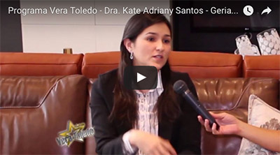 Video com a Dra Kate Adriany